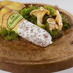 Franche-Comté Saucisson with Chanterelle Mushrooms 400g