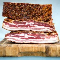 100g Sliced Lard Paysan Franche-Comté Smoked Pork Belly