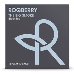 'The Big Smoke' Black Tea Breakfast Blend with Assam, Yunnan & Lapsang Souchong 18 Tea Bags