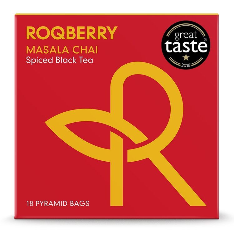 'Masala Chai' Spiced Assam Black Tea 18 Tea Bags