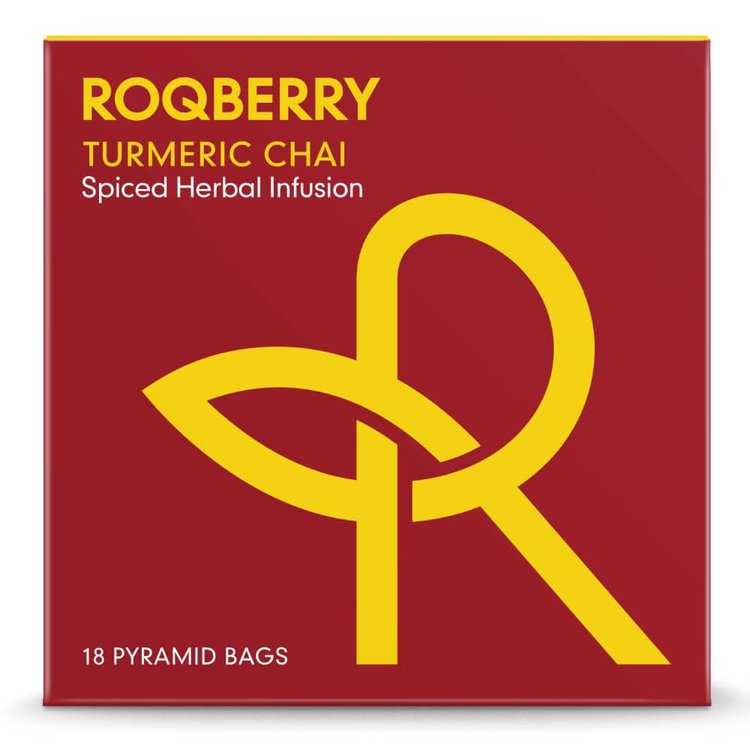 'Turmeric Chai' Spiced Herbal Infusion Tea 18 Tea Bags