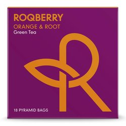 'Orange & Root' Sencha Green Tea with Orange Peel 18 Tea Bags