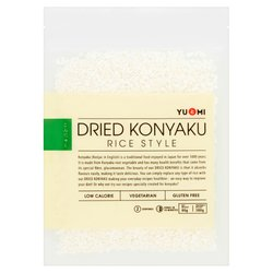 4 x Dried Konyaku / Konjac Japanese 'Rice' 80g