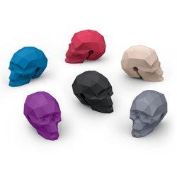 6 Skull Drink Markers