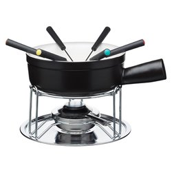 Cheese Fondue Set with Forks