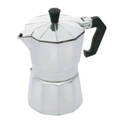 Italian 3 Cup Espresso Coffee Maker Moka Pot by Le'Xpress