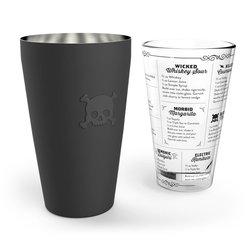 'Bar Bones' Boston Cocktail Glass Shaker
