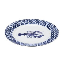 Small Oval Lobster Porcelain Serving Plate Dish