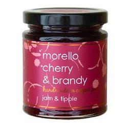 Morello Cherry & Brandy Jam 227g (For Pastries, Ham & Charcuterie)