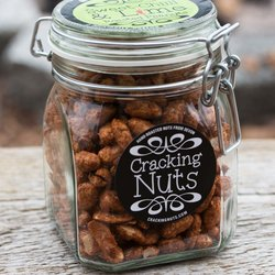 Sweet Chilli & Lime Roasted Jumbo Peanuts in Clip Jar 450g
