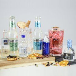 Small Batch English Gin & Tonic Gift Set Inc. Martin Miller, Tarquin, 6 O'clock & Lakes Gins