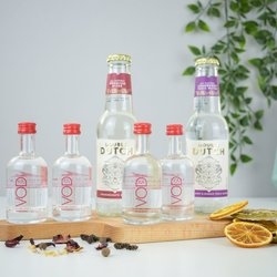 The Lakes English Vodka Tasting Gift Set with Double Dutch Tonic Water