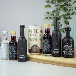 Espresso Martini Cocktail Gift Set Inc. Five Vodka, Friary Coffee Liqueur & Fitch Cold Brew Coffee