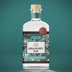Organic Handcrafted Graveney Gin (London Dry) 700ml