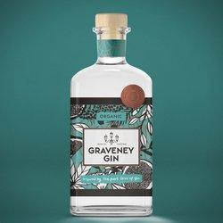 Organic Handcrafted Graveney Gin (London Dry) 700ml