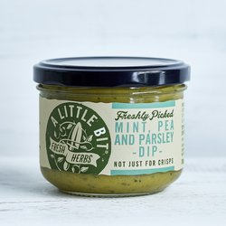 Fresh Mint, Pea & Parsley Dip 200g