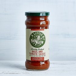 Fresh Basil & Tomato Sauce (For Pasta, Meat or Fish) 325g
