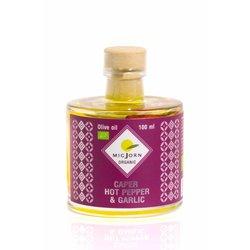 Migjorn Organic Caper, Garlic & Hot Pepper Infused Olive Oil 100ml