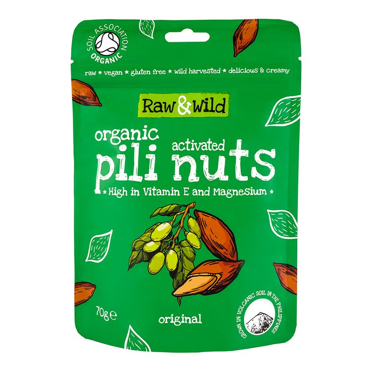 70g Raw Original Activated Pili Nuts Snack Pouch