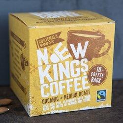 10 Bags Organic Guatemalan Medium Roast Instant Ground Coffee (10 Coffee Bags)