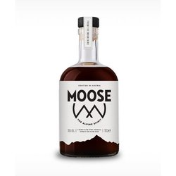 Moose Alpine Herbal Spirit with Maple Syrup, Mountain Pine & Matcha Green Tea 70cl 35% ABV