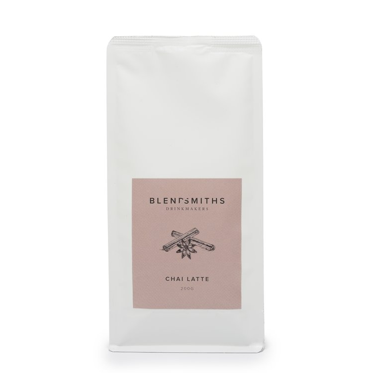 Chai Latte Drink Blend With Black Tea & Spices 200g