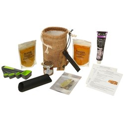 Mild Korma & Pasanda Curry Gift Set Inc. Spices, Equipment & Hessian Bag
