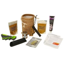 Medium Rogan Josh & Tikka Masala Curry Gift Set Inc. Spices, Equipment & Hessian Bag