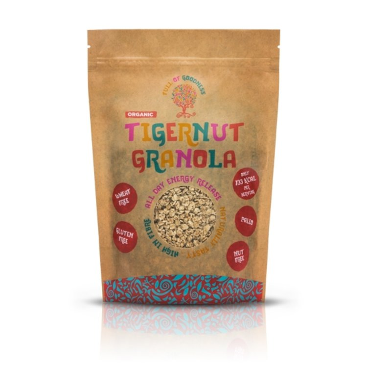 Organic Tigernut Granola 250g (Gluten Free)