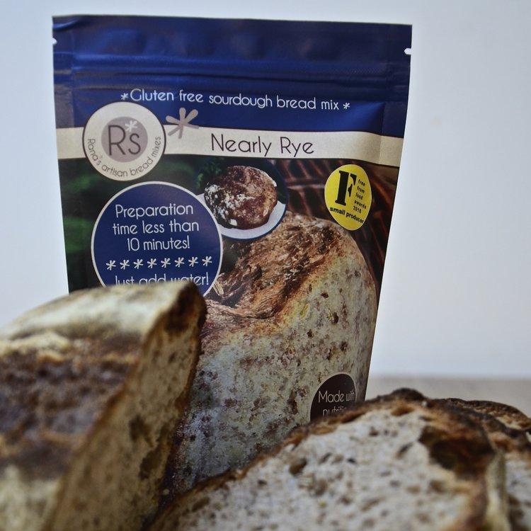 Gluten-Free Nearly Rye Sourdough Bread Mix 240g