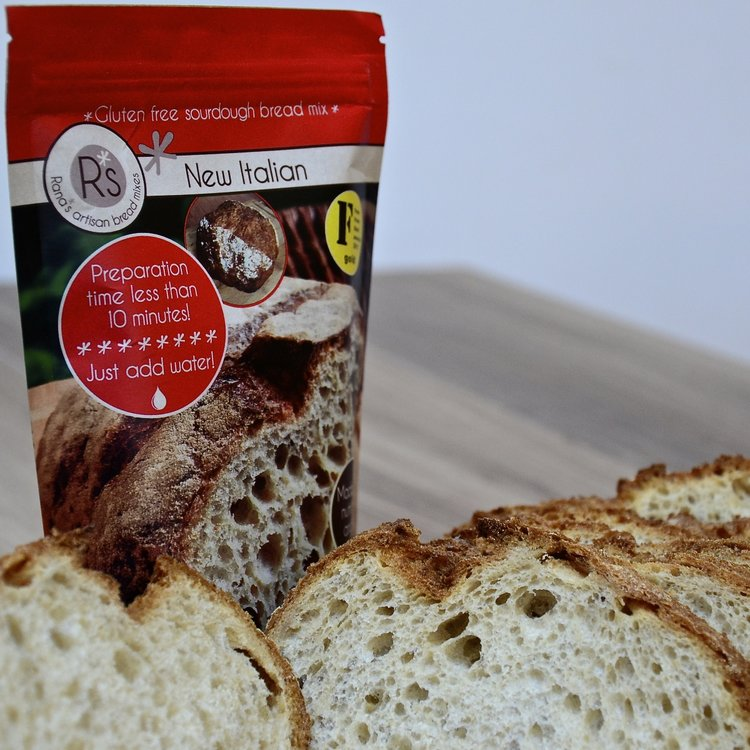 Gluten-Free New Italian Sourdough Bread Mix 240g