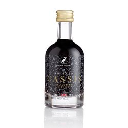 British Cassis Blackcurrant Liqueur (For Cocktails, Baking & Mixers) 50ml 15% ABV