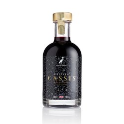 British Cassis Blackcurrant Liqueur (For Cocktails, Baking & Mixers) 200ml 15% ABV