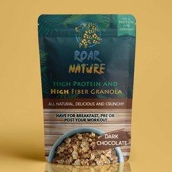 Dark Chocolate High Protein & High Fibre Granola 400g (Vegan)