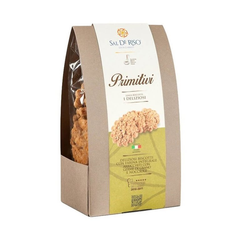 Primitivi' Italian Hazelnut Wholewheat Cookies 200g