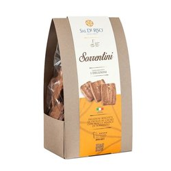 'Sorrentini' Cocoa Bean Cookies with Sorrento Nuts & Oranges 200g