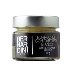 'Burrochef' White Truffle Butter with Parmigiano Reggiano 80g