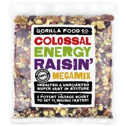 'Colossal Energy Raisin' Fruit & Nut Megamix Inc. Raisins, Pumpkin Seeds & Almonds 800g