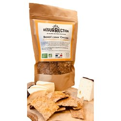 Organic Buckwheat Flour & Squash Seed 'Brewers Grain' Crackers 100g