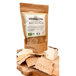 Organic Spelt Flour & Fennel Seed 'Brewers Grain' Crackers 100g