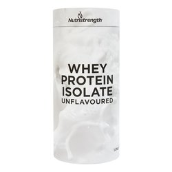 1kg Unflavoured Whey Protein Isolate with Plant-Based Sweeteners
