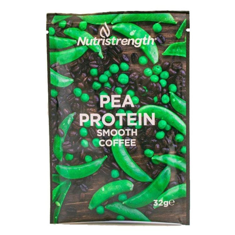 12 Vegan 'Smooth Coffee' Pea Protein Powder Sachets (12 x 32g)