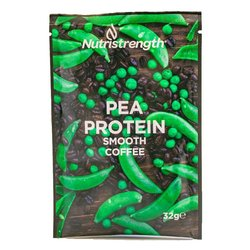12 Vegan 'Smooth Coffee' Pea Protein Powder Sachets (12 x 32g)