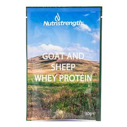 12 Goat & Sheep Whey Protein Powder Sachets (12 x 32g)