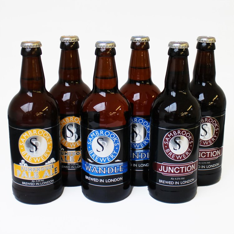 Sambrook's Craft Beer Mixed Case (Inc. Junction, Pale Ale & Wandle) 6 x 500ml