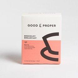 'Brockley Breakfast' Whole Leaf Black Tea Bags 15 Tea Bags