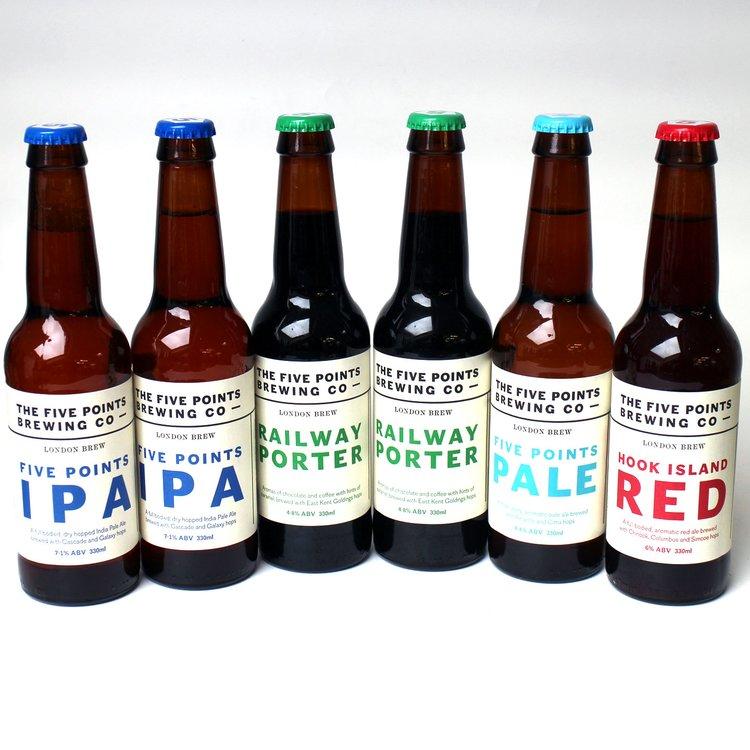 Five points  6 bottle mixed case