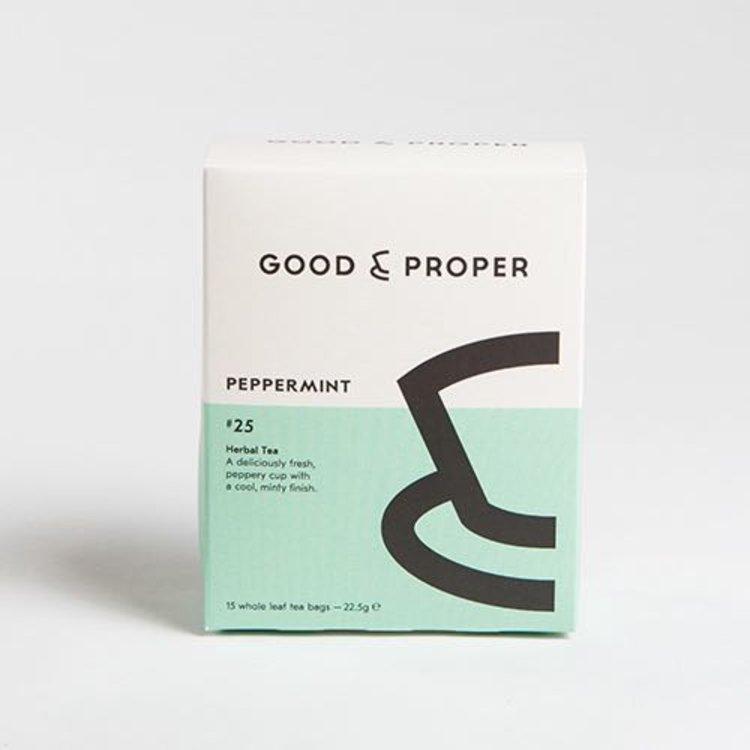 Peppermint Whole Leaf Herbal Tea Bags 15 Tea Bags