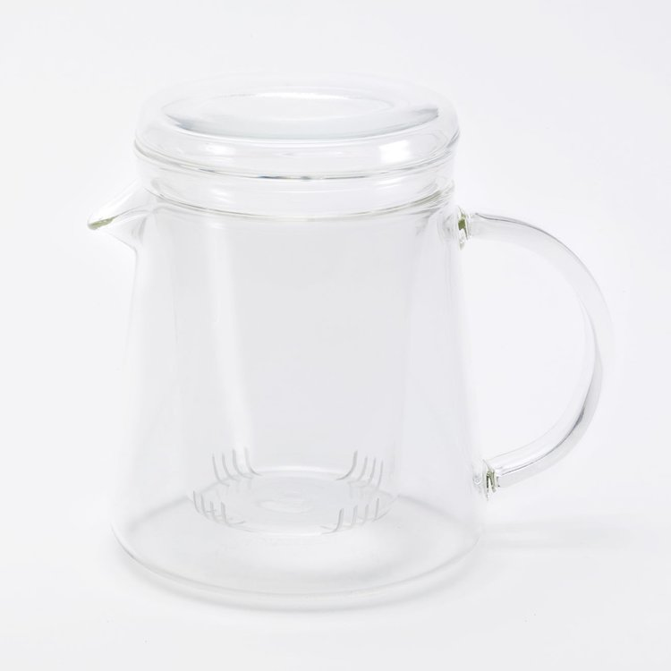 Good & Proper Glass Tea Pot with Tea Infuser