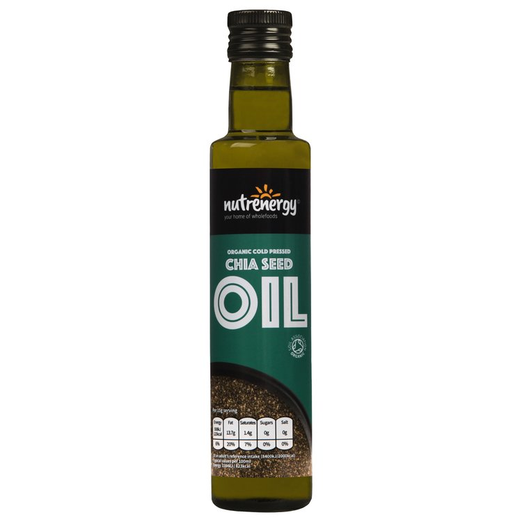 Organic Cold-Pressed Chia Seed Oil 250ml